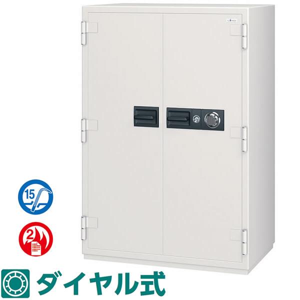 NCWシリーズ 耐火 防盗金庫 100万変換ダイヤル式 526リットル【NCW-52】