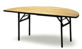 宴会用テーブル・レセプションテーブル FRTシリーズ 丸型 ハカマ無 直径2000用×高さ700mm【FRT-200HR-N】