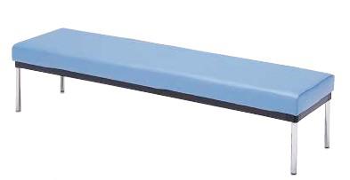 ロビー用ベンチ MC-7B 幅1800×奥行き460×座の高さ400mm【MC-7B】