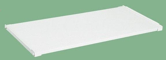 オプション固定棚 適合天板寸法:W1200×D750mm 耐荷重:50kg【KK-1275KW】