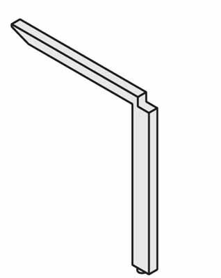 コクヨ レヴィスト デスクシステム 拾い出しパーツ 脚 中間脚【SDF-LV7C】