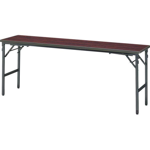 座卓兼用テーブル B-1860 ローズ 幅1800×奥行き600×高さ700・320mm【1-385-0411】