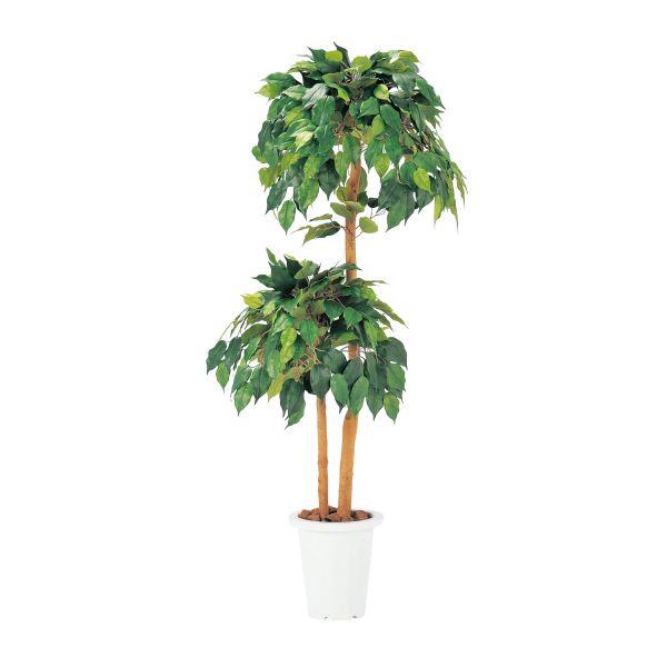 【オフィスグリーン】ベンジャミン 人工植物 【国産】【G-B】