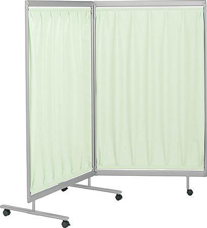 外来 診察室 クロススクリーン 2連タイプ 幅1800×高さ1560mm【SN-CH562】