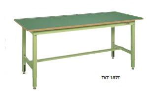サカエ TKT 中量高さ調整作業台 均等耐荷重:400kg【TKT-187F】