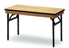 宴会用テーブル・レセプションテーブル FRTシリーズ 角型 ハカマ付 幅900×奥行き600×高さ700mm【FRT-0960】