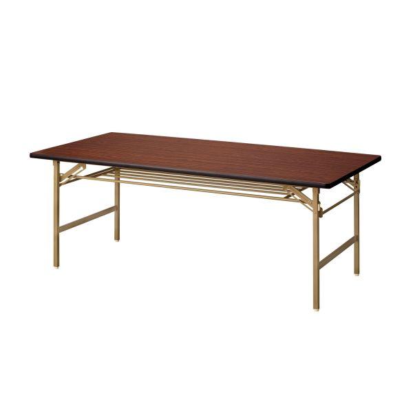 折畳み会議テーブル ソフトエッジ 幅1800×奥行600mm 国産品【YKT-1860SE】