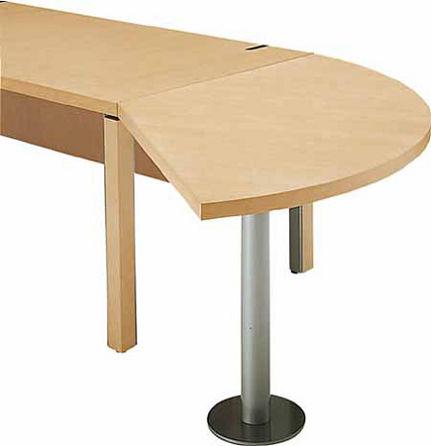 コクヨ 役員室用家具 マネージメントN100シリーズ ミーティング用サイドテーブル(扇型)【MG-N10RTN】