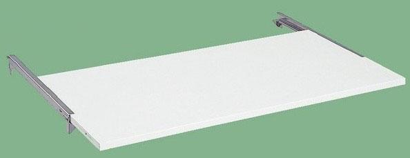 オプションスライド棚 適合天板寸法:W1500×D750mm 耐荷重:20kg【KK-1575SW】