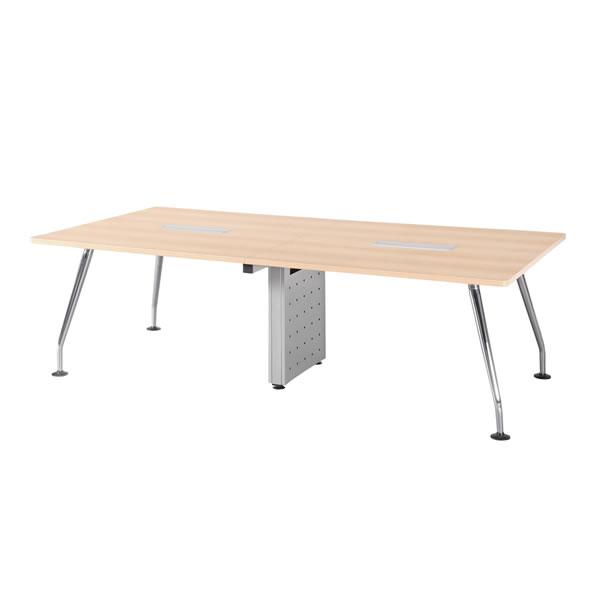 ミーティングテーブル・会議テーブル/ TPMテーブル 【幅2400×奥行1200mm】【TPM-2412】