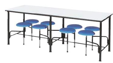 食堂用テーブル 幅2100×奥行き750mm【2175ST8】