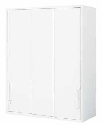 【最大3年保証】コクヨ エディア 収納システム 高さ1185mmタイプ 上置き 3枚引き違い戸 幅800×奥行き450mm【BWU-HU368N】