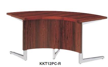 会議用テーブル KKT型  コーナー 連結用基本タイプ 幅1200R×高さ700mm【KKT12PCJ-R】
