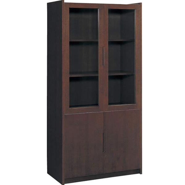 コクヨ 役員室用家具 マネージメント30シリーズ 両開き書棚 幅900 カラー(ローズウッド)【MG-3GKRN3】
