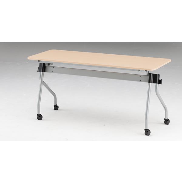 フォールディングテーブル パネル無し 幅1500mm×奥行600mm×高さ720mm【NTA-N1560】