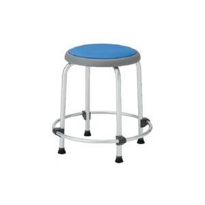ノーリツイス 丸椅子 座固定外リングスツール ビニールレザー張り【R-450L】
