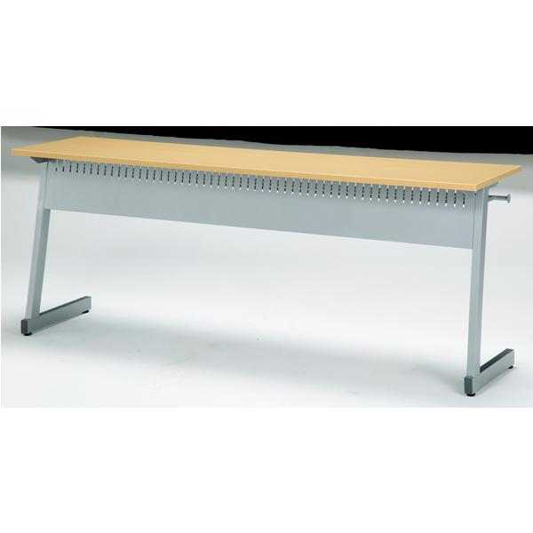 研修・講義用テーブル 幅1200mm×奥行400mm×高さ700mm【SKB-1240P】