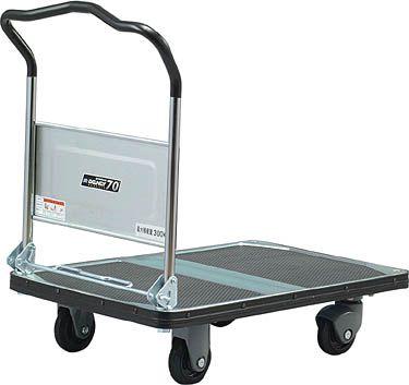 コクヨ 手押車(ハンドル折りたたみ式) ●受注生産品 積載量/300kg【TK-UD20H】
