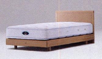 シモンズ ベッド/アーグ ステーションタイプ(セミダブルサイズ) フレームのみ マットレス別売り【ST-AURG-SDF】