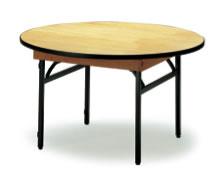 宴会用テーブル・レセプションテーブル FRTシリーズ 円型 ハカマ付 直径900×高さ700mm【FRT-90R】