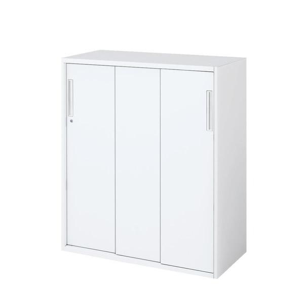 【最大3年保証】コクヨ エディア 収納システム 下置き 3枚引き違い戸 幅900×奥行500×高さ1050mm【BWU-HD359DN】