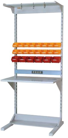 ラインテーブル 間口900サイズ 両面・連結用 幅893×奥行き1275×高さ2125mm【YAMA-HRR-0921R-FYC】