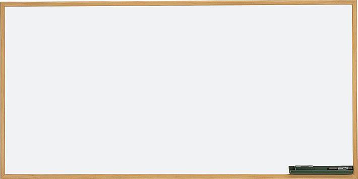 高齢者施設用 壁掛ホワイトボード 幅1200mm×奥行き30mm×高さ900mm【HE-BBH134W】