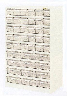 サカエ ハニーケース2 樹脂ボックス 均等耐荷重:棚板1段当り60kg【HK-42LI】