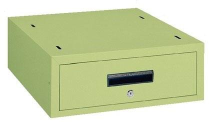 作業台用 オプション WKLキャビネット グリーン 引出し内寸法:W410×D444×H115mm【WKL-1】