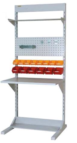 ラインテーブル 間口900サイズ 基本タイプ 両面用 幅893×奥行き1275×高さ2125mm【YAMA-HRR-0921-TPY】