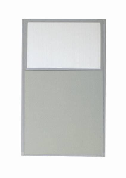 MPパネル パーティション パネルU(上部半透明) W900×H1465mm 【国産】【MP-1509U】