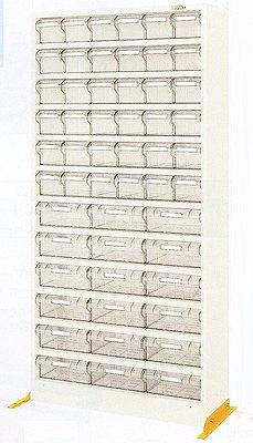 サカエ ハニーケース2 樹脂ボックス グリーン 均等耐荷重:棚板1段当り60kg【HK-54L】