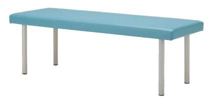 病院・福祉施設用家具 診察台 MON-1865 幅1800×奥行き650・700×高さ600(550・500)mm 高さ3段階指定可能【MON-1865】