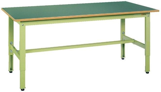 軽量高さ調整作業台TKK6タイプ W1800×D600×H600~800mm 耐荷重:200kg スチール天板【TKK6-186S】