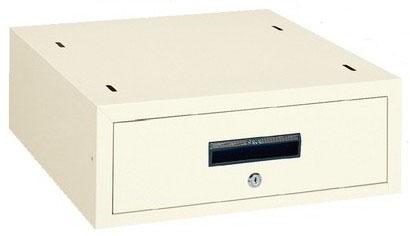 作業台用 オプション WKLキャビネット アイボリー 引出し内寸法:W410×D444×H115mm【WKL-1I】