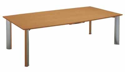 コクヨ 会議用テーブル WT-150シリーズ 会議用テーブル 長方形天板 幅4800×奥行き1200×高さ700mm【WT-W154N】