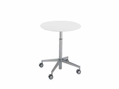 コクヨ ビューライズ 可動脚タイプ テーブル 直径800×高さ675~1050mm【MT-502-C】