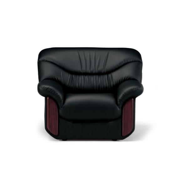 応接椅子 シエルアームチェア ビニールレザー張り【RE-2151】