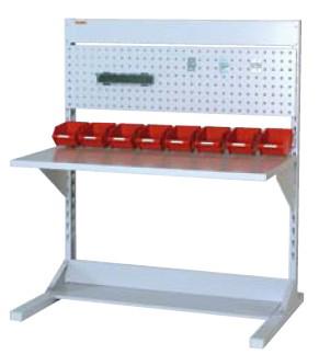 ラインテーブル 間口1200サイズ 両面・連結用 幅1193×奥行き1275×高さ1405mm【YAMA-HRR-1213R-PY】