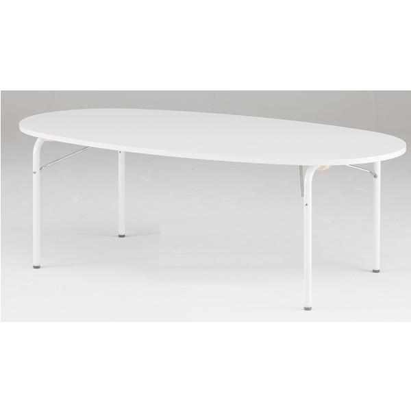 キッズテーブル(楕円形) 幅1800mm×奥行800mm×高さ510mm【JRM-1880H】