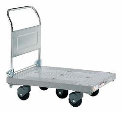 樹脂ハンドカー 五輪車 標準キャスター 幅900×奥行き600×高さ865mm 均等耐荷重:400kg【LHT-50C】