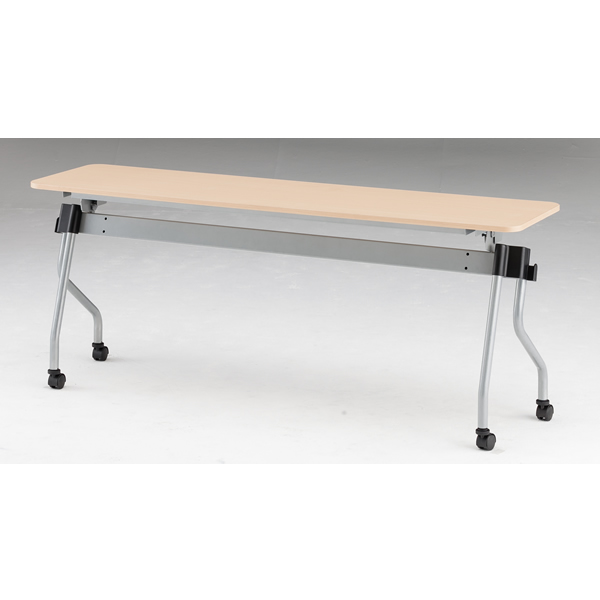 フォールディングテーブル パネル無し 幅1800mm×奥行450mm×高さ720mm【NTA-N1845】