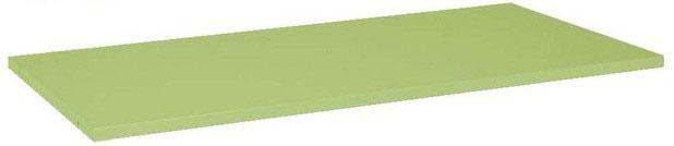 作業台用 オプション 中棚固定タイプ グリーン W1500×D750mm用 耐荷重:50kg【KK-1575K】