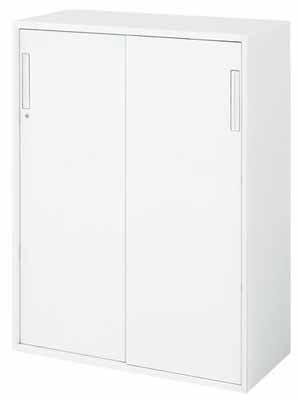 【最大3年保証】コクヨ エディア 収納システム 高さ1185mmタイプ 下置き 2枚引き違い戸 幅900×奥行き450mm【BWU-HD269NN】