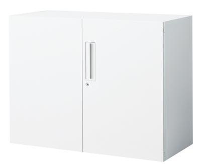 【最大3年保証】コクヨ エディア 収納システム 高さ700mmタイプ 下置き 両開き扉 幅800×奥行き450mm【BWU-SD38N】