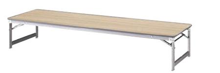 折りたたみテーブル 和机 幅1800×奥行き600mm【KHL1860W】