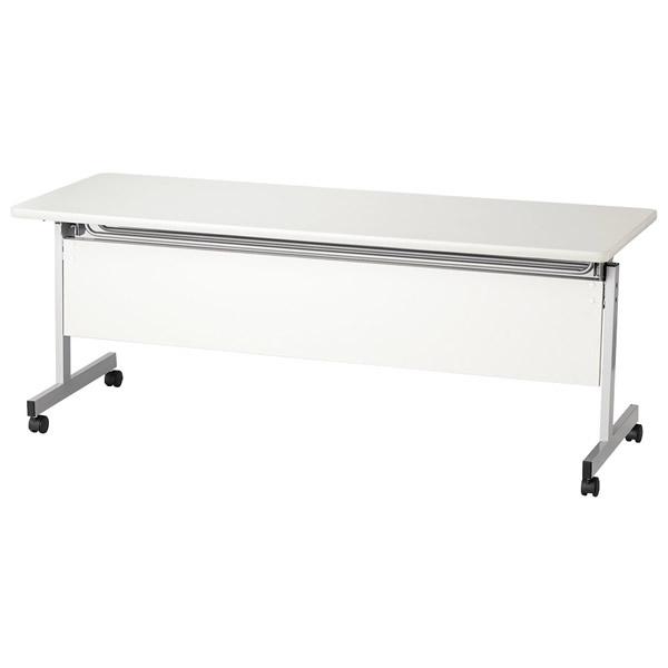 スタックテーブル/ KWSPテーブル 塗装脚パネル付タイプ 幅1800×奥行き600mm【KWSP-1860】