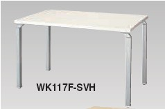 テーブルシステム WK型 テーブル アジャスター仕様 幅1100mm【WK117F】