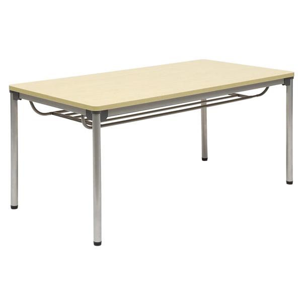 ミーティングテーブル・会議テーブル/ ASSテーブル 【幅1200×奥行き750mm・棚付】【ASS-1275-M1】