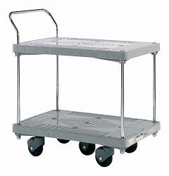 樹脂ハンドカー 五輪車 標準キャスター 幅900×奥行き600×高さ1020mm 均等耐荷重:400kg【LHT-52】
